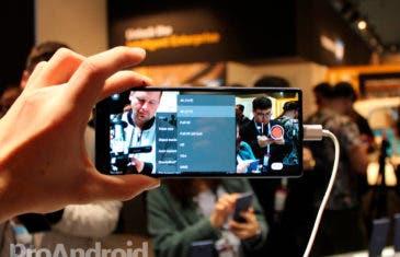Un móvil Sony aparece con una resolución 5K