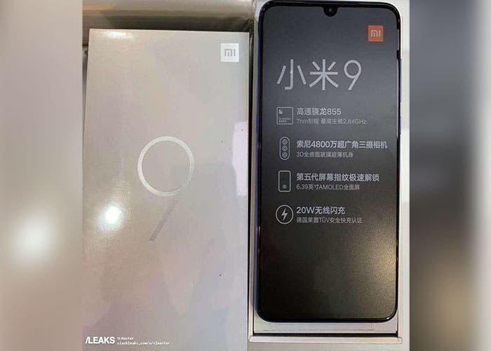 Se filtra el precio, las características técnicas y el diseño del Xiaomi Mi 9