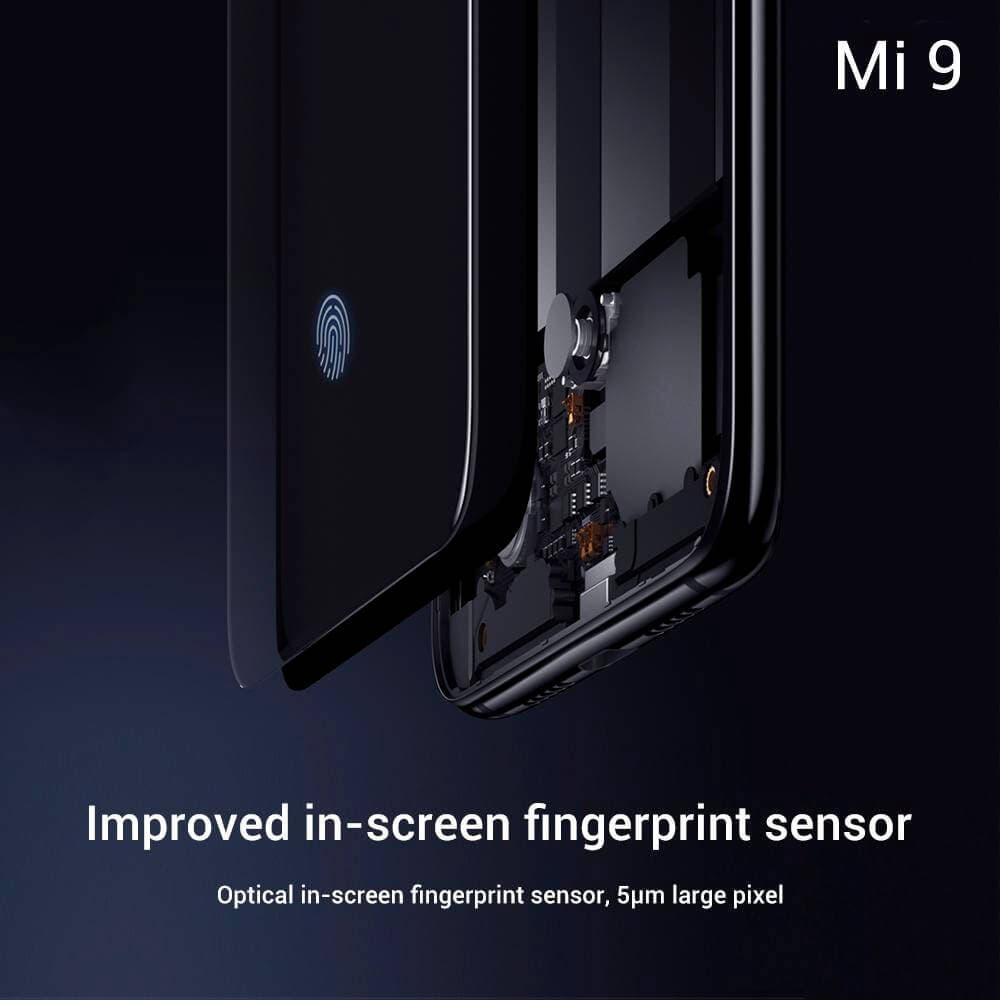 Lector de huellas del Xiaomi Mi 9