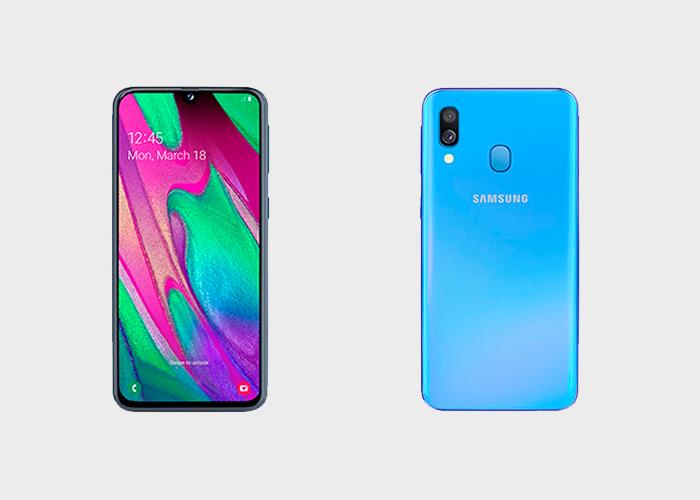 Samsung Galaxy A40 presentado oficialmente: características entre el Galaxy a30 y A50