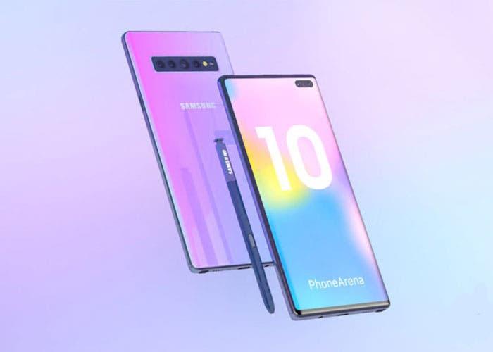 Confirmado: el Samsung Galaxy Note 10 tendrá una variante 5G