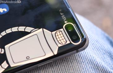 Samsung no dará soporte al agujero en pantalla como led de notificaciones