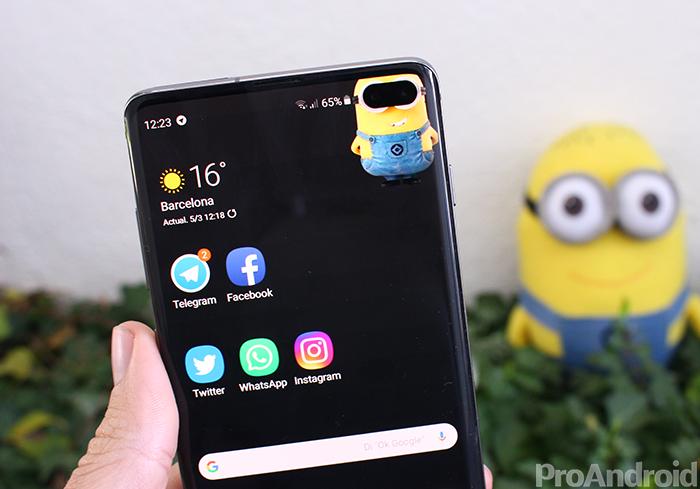 El Samsung Galaxy S10 se actualiza y mejora la batería