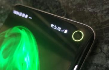 Cómo tener un anillo indicador de la batería en los Samsung Galaxy S10