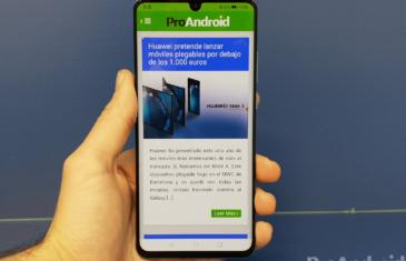 La pantalla del Huawei P30 está fabricada por Samsung, pero la del P30 Pro no