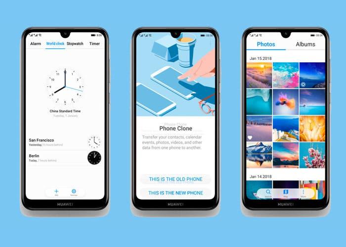 Huawei Y6 2019 y Huawei Y7 2019: la renovación de la gama económica