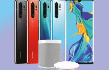 Los Huawei P30 y P30 Pro no llegarán solos: altavoz y cargador de regalo