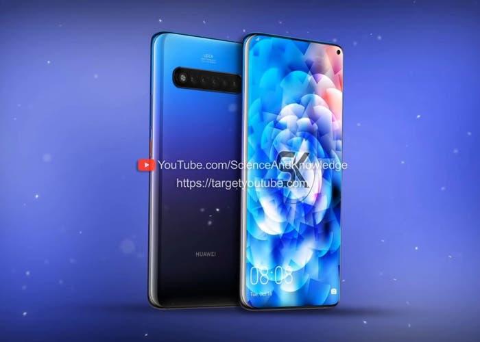 Huawei Mate 30 Pro: el primer vídeo conceptual llega con cinco cámaras