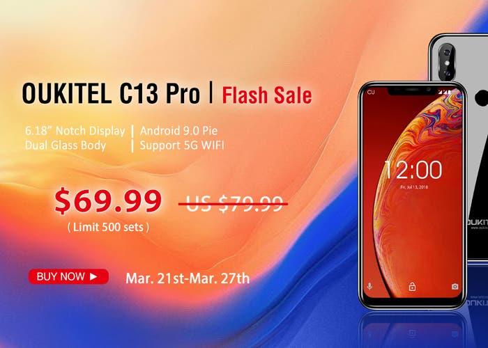 El Oukitel C13 Pro se puede comprar al mejor precio de su historia