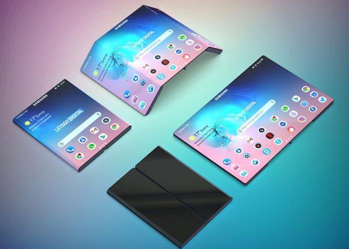 El nuevo móvil plegable de Samsung podría ser similar al de Xiaomi