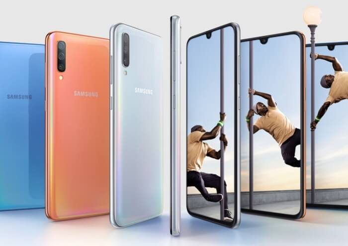 El Samsung Galaxy A70 es oficial: así es la nueva bestia de 6,7 pulgadas de Samsung