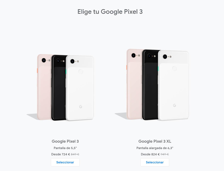 Rebaja Google Pixel 3