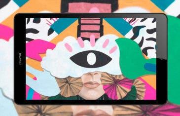 Huawei MediaPad M5 Lite 8, así es la nueva tablet de gama media de Huawei