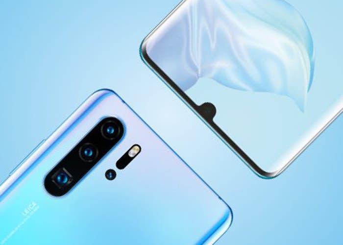 El Huawei P30 Pro llegará con el modo de vídeo Dual-View