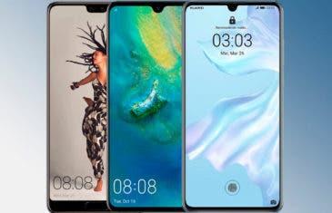 Huawei P20, Huawei Mate 20 y Huawei P30: así evoluciona Huawei