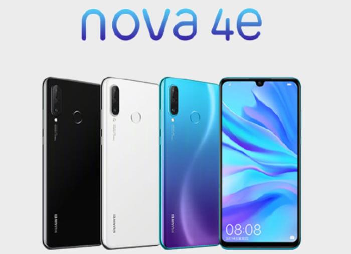 El Huawei Nova 4e es oficial: así es el hermano gemelo del Huawei P30 Lite
