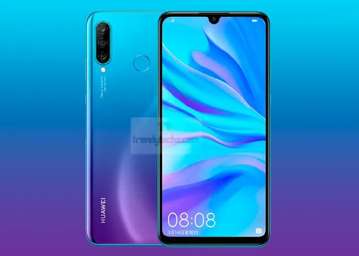 El Huawei P30 Lite se muestra en imágenes de prensa