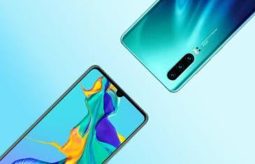 Los renders oficiales del Huawei P30 revelan todos los colores oficiales