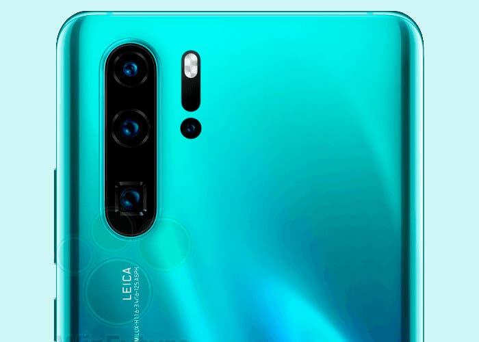 Confirmado, el Huawei P30 Pro llegará con una cámara tipo periscopio
