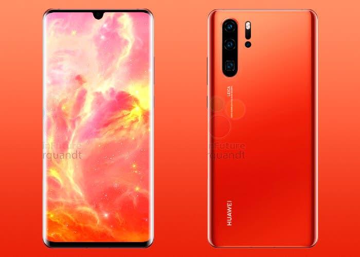 El Huawei P30 llegará en un impresionante color rojo y tendrá una grata sorpresa