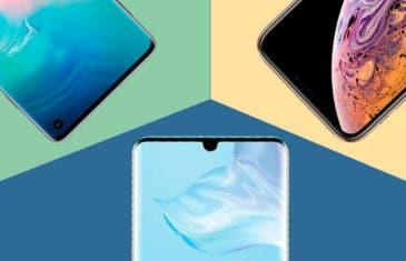 Huawei P30 vs Samsung Galaxy S10 y iPhone XS: así queda frente a la gama alta