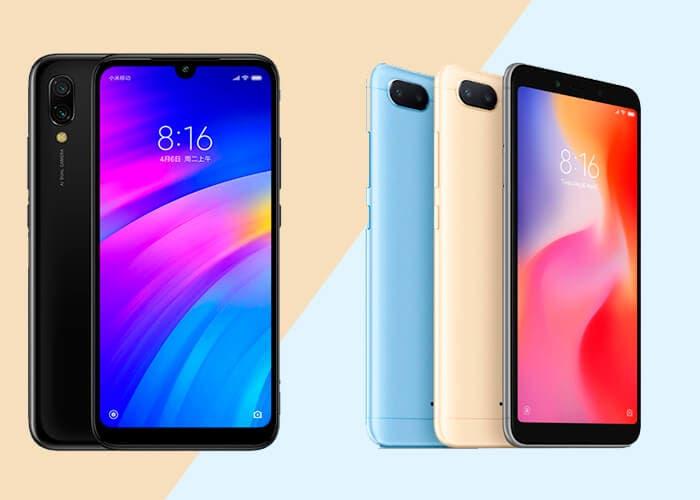 Redmi 7 vs Xiaomi Redmi 6 ¿Qué ha cambiado?