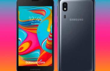 El Samsung Galaxy A2 Core es oficial: ya está aquí el nuevo Android Go de Samsung