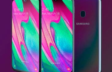 Todas las características del Samsung Galaxy A40 confirmadas