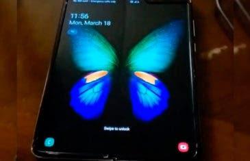 El Samsung Galaxy Fold aparece en vídeo y sí, se nota el pliegue de la pantalla