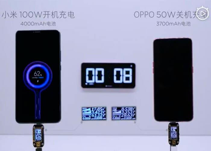 Así de impresionante es la carga rápida de 100W de Xiaomi