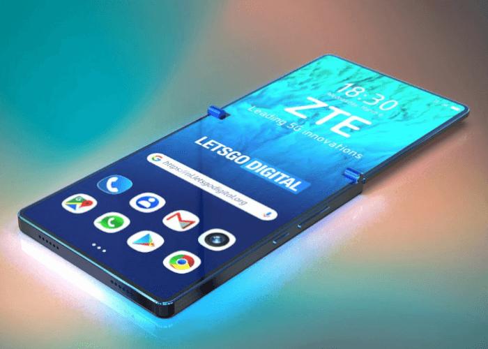 ZTE patenta un teléfono plegable en vertical
