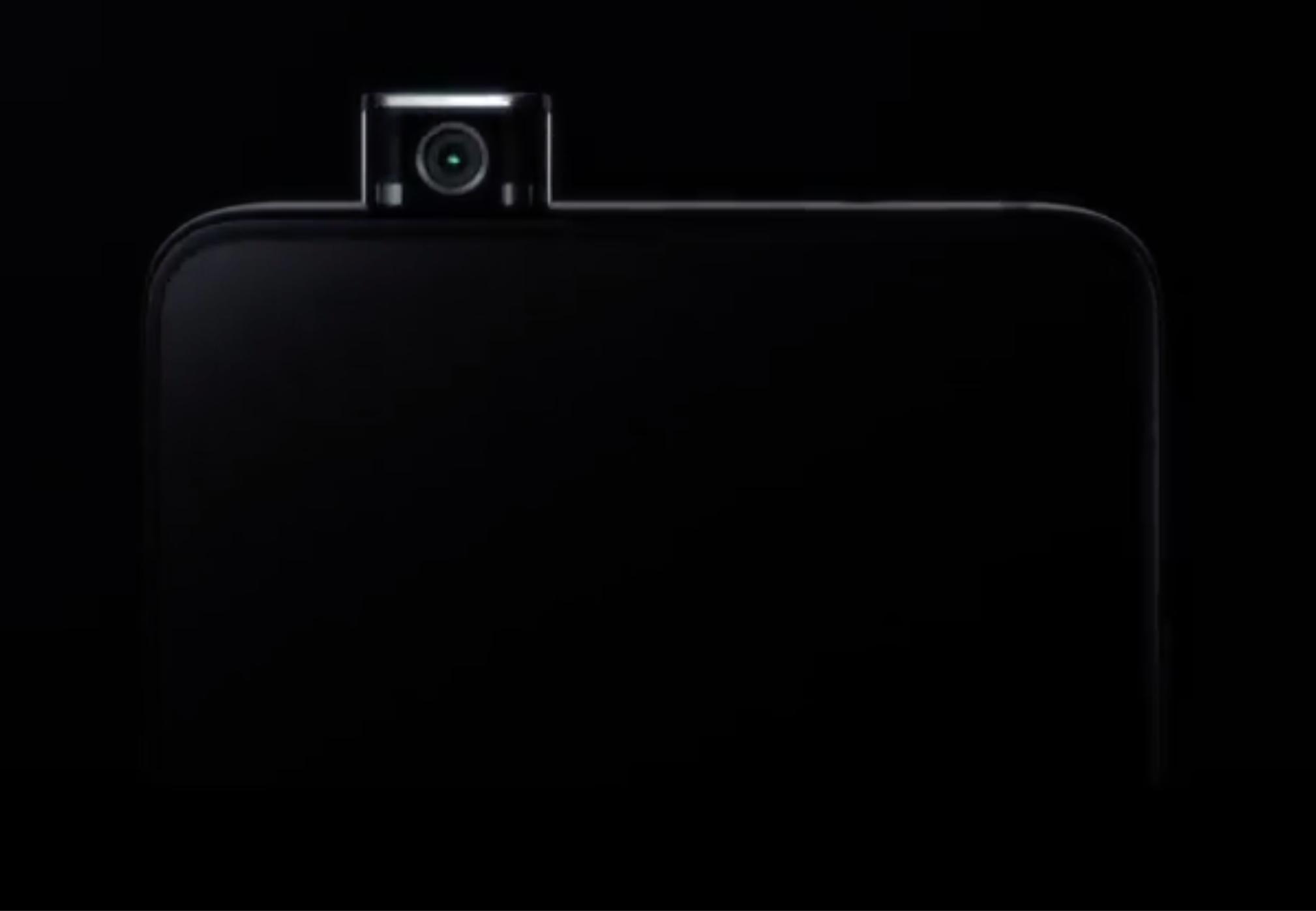 Confirmado oficialmente, Redmi lanzará un dispositivo con cámara emergente