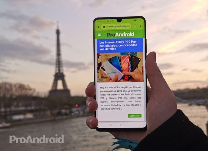 La beta de Android 10 y EMUI 10 ya es una realidad para los Huawei P30
