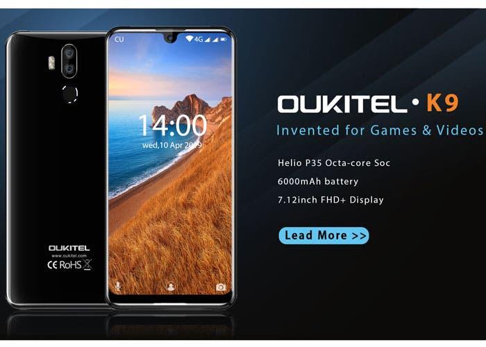 Oukitel K9: el nuevo móvil gigante de Oukitel a pleno rendimiento