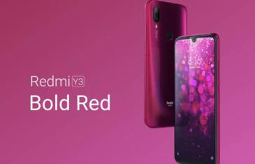 El Redmi Y3 ya es oficial: cámara de 32 megapíxeles y batería de 4.000 mAh