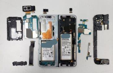 Desmontaje del Samsung Galaxy Fold: así es por dentro el teléfono de 2.000 dólares