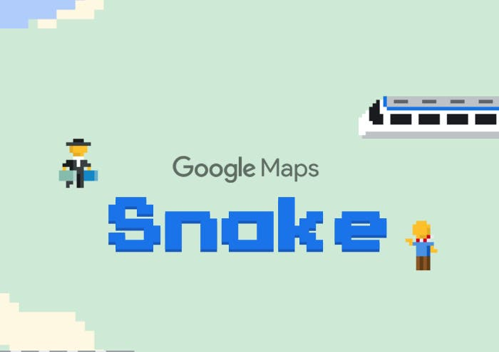 Google Maps se suma al April Fool's Day: juega al Snake recogiendo pasajeros