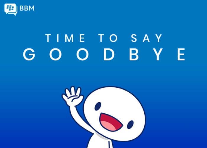 BlackBerry Messenger se despide: funcionará hasta el 31 de mayo