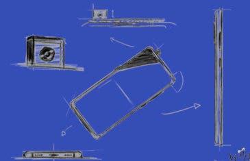 Así podría ser el Xiaomi Mi MIX 4 según estos bocetos