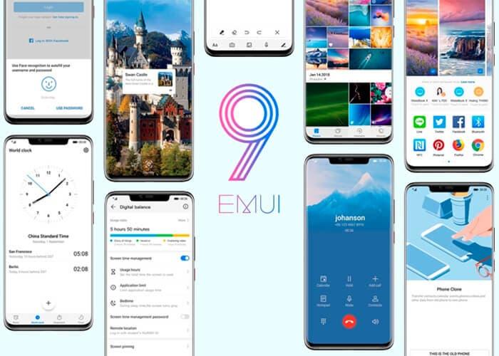 Estos son los 49 teléfonos que recibirán EMUI 9.1