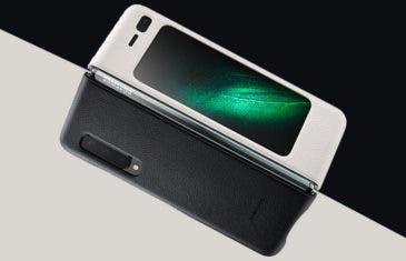 Así es la funda oficial del Samsung Galaxy Fold. Por el módico precio de 100€