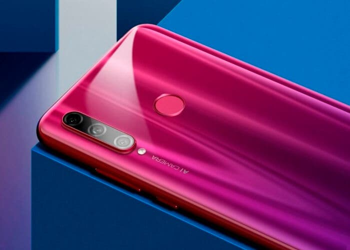 Honor 20 Lite rojo