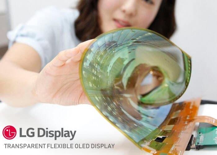 LG está trabajando en un móvil plegable que se enrolla sobre sí mismo