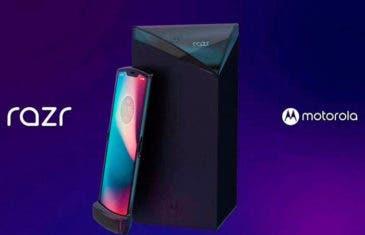 Estos podrían ser los primeros renders oficiales del Motorola Razr plegable