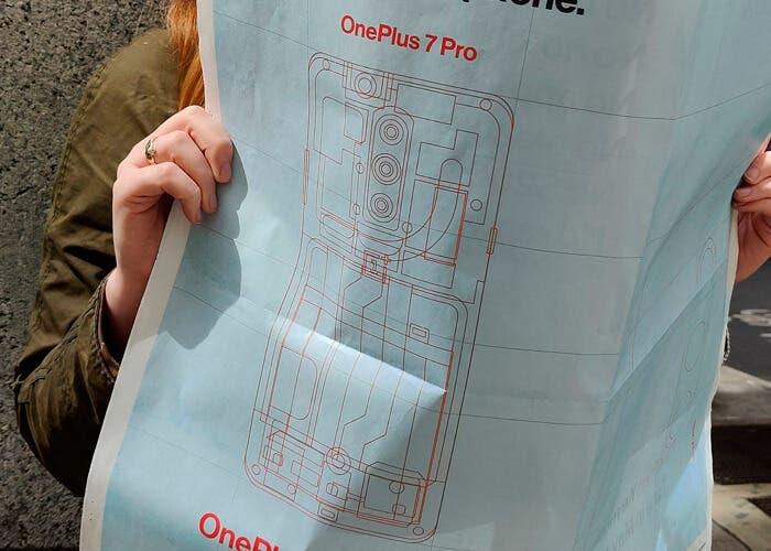 Esta imagen del OnePlus 7 Pro confirma casi todo sobre su diseño