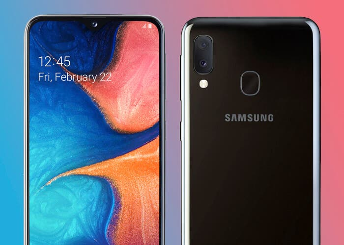 Así es el Samsung Galaxy A20e, el más modesto de la familia