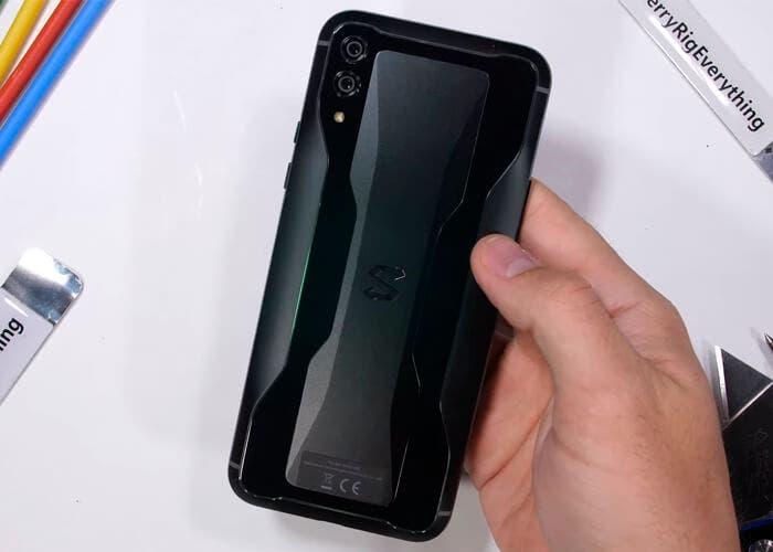 Test de resistencia del Black Shark 2 ¿cómo de resistente es un móvil gaming?