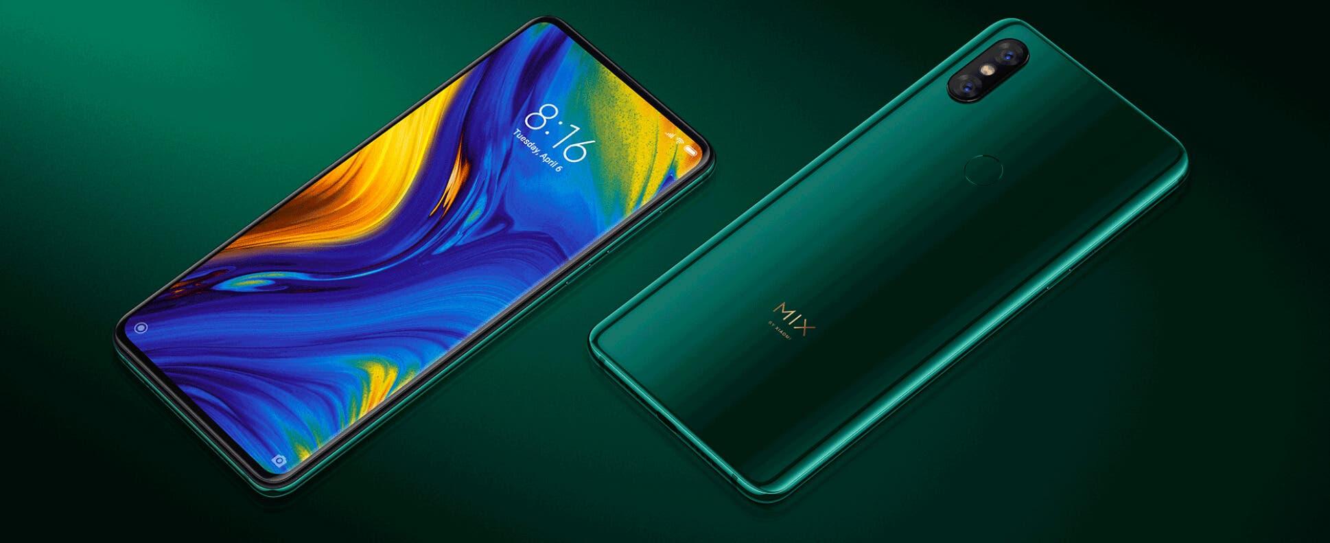 Xiaomi Mi MIX 3 verde