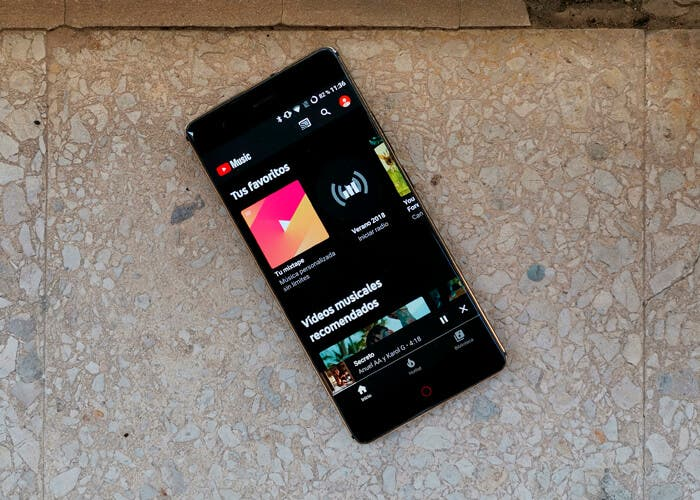 YouTube Music integra las letras de las canciones en la app