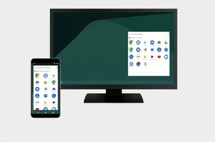 Android Q trabaja en un modo escritorio como el de Samsung y Huawei, pero sin necesidad de hardware propietario